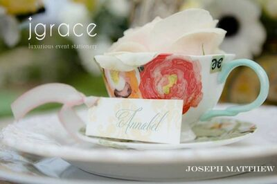 Jgrace Luxurious Event Stationery