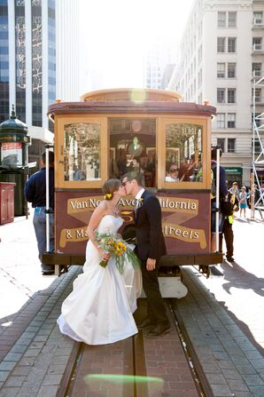 Modern Museum Wedding in San Francisco