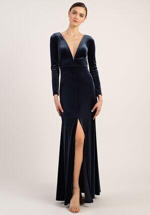 Jenny Yoo Collection (Maids) Malia V-Neck Bridesmaid Dress