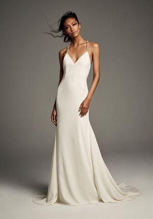 301710bea White by Vera Wang Vera Wang Style VW351473 Sheath Wedding Dress