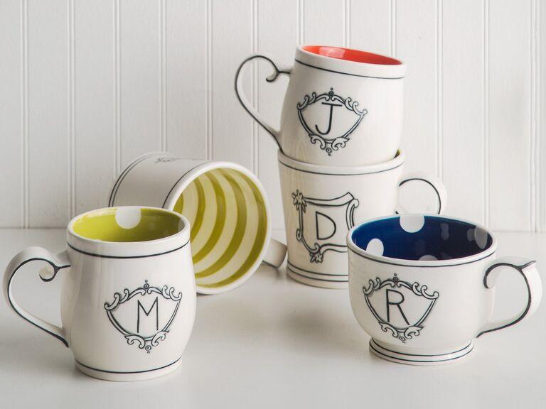 Monogrammed mug gift for daughter-in-law