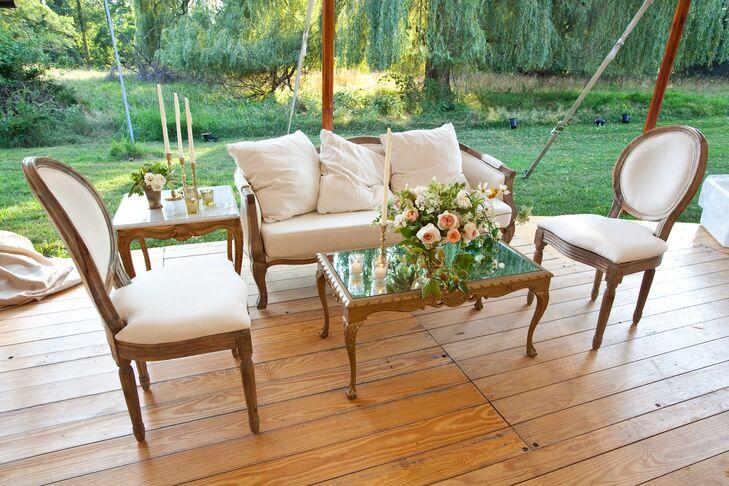 Elegant Lounge Area