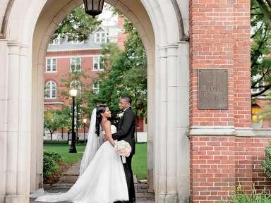 georgia college southern wedding