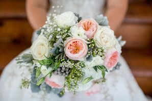 Blush Garden Rose Bridal Bouquet