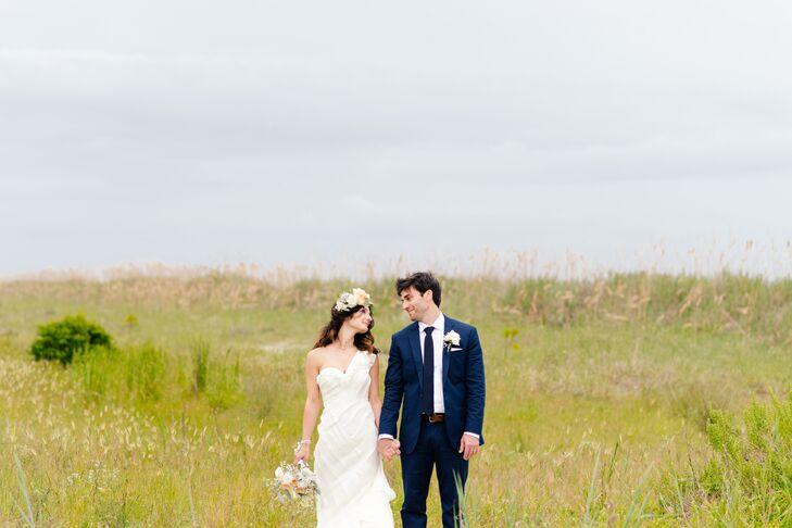 Noelle Nackino and Patrick Pisciuneri planned an intimate beach wedding at the Omni Hilton Head Oceanfront Resort in Hilton Head Island, South Carolin