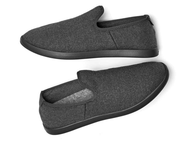 Wool slippers 15-year anniversary gift for him