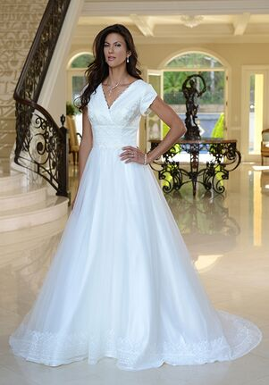 Venus Modest TB7743 A-Line Wedding Dress