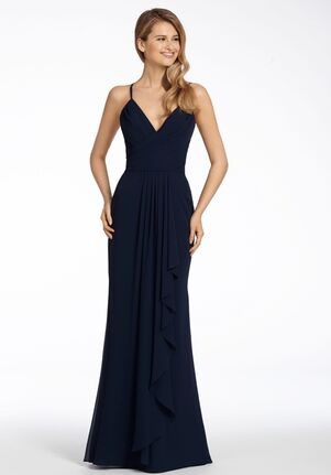 Hayley Paige Occasions 5712 V-Neck Bridesmaid Dress