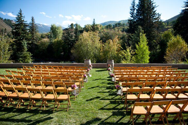 An Outdoor Ceremony in Avon, Colorado