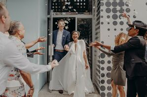 Wedding at 101 Coffee Shop in Los Angeles, California