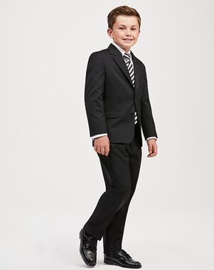 Jos. A. Bank Joseph & Feiss Boys' Suit - Black Suit Black Tuxedo