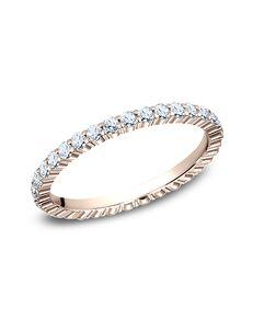 Benchmark 552623R Rose Gold Wedding Ring