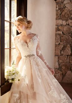 Essense of Australia D2186 Ball Gown Wedding Dress