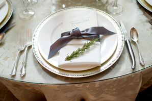 Fresh Rosemary Place-Setting Accents