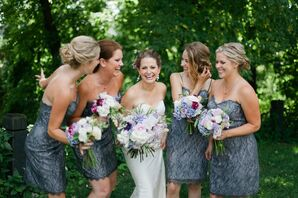 Semi-Formal Bridal Party