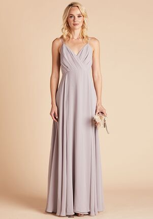 Birdy Grey Kaia Dress in Lilac V-Neck Bridesmaid Dress