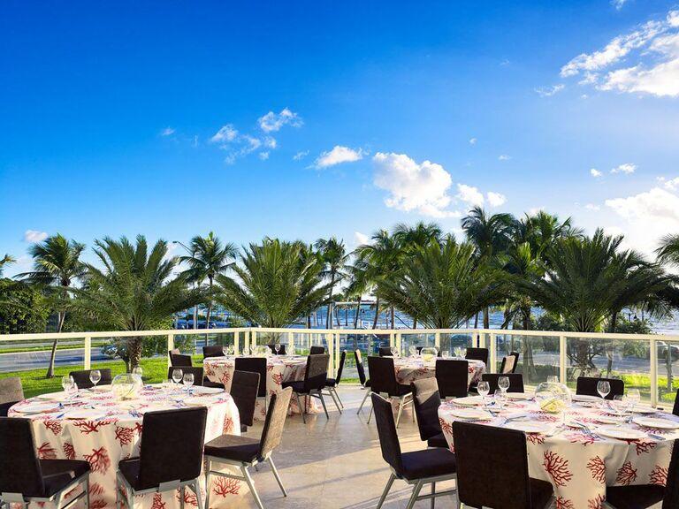 Fort Lauderdale wedding venue in Florida.