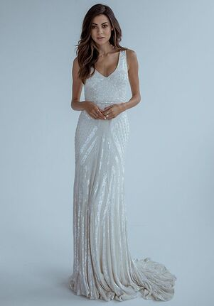 KAREN WILLIS HOLMES Fontanne Mermaid Wedding Dress