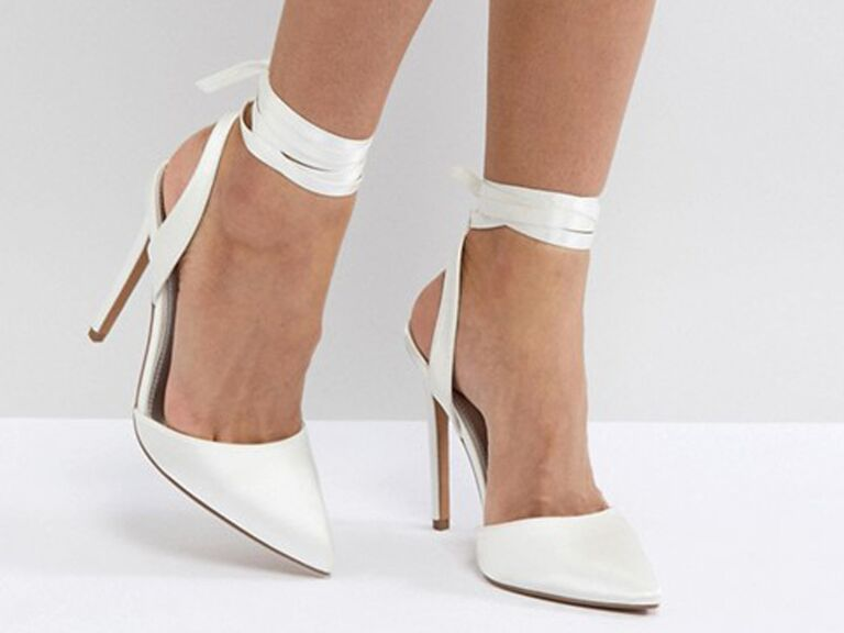 e9defeef895  Asos Pied Piper bridal high heels