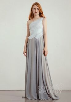 CocoMelody Bridesmaid Dresses CB0242 One Shoulder Bridesmaid Dress