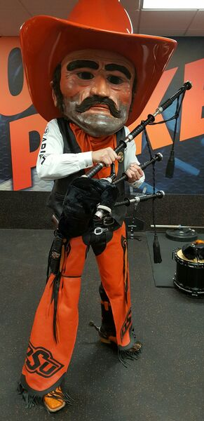 Pistol Pete is a Piper?
