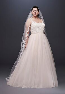 David's Bridal David's Bridal Style 9NTWG3905 Ball Gown Wedding Dress