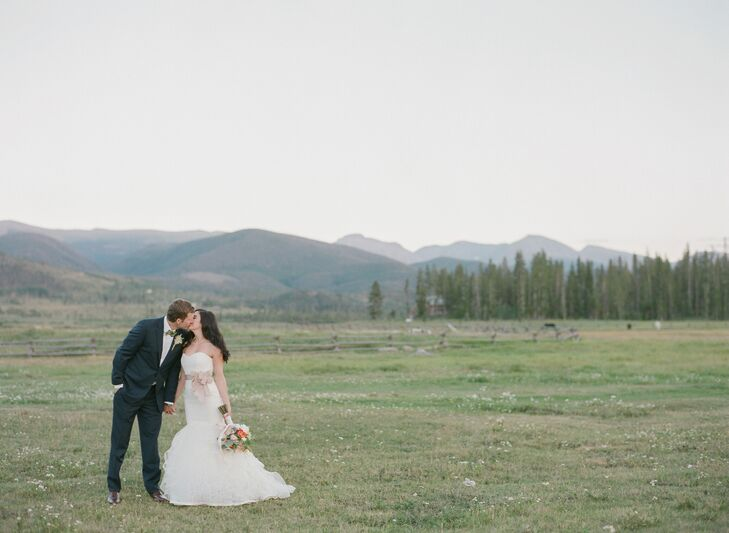 Six years after they met on a fateful camping trip with mutual friends in Breckenridge, Nicole Arnold (32) and Alex Aldridge (33 and president of Aldr