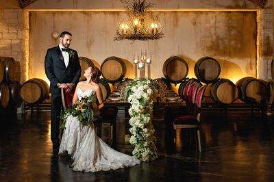 Umbra Winery at La Buena Vida Vineyards Weddings