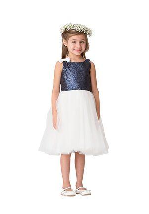 Bari Jay Flower Girls F5616 Blue Flower Girl Dress