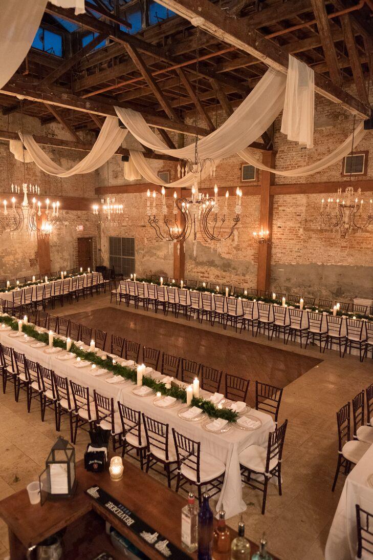 Romantic Exposed Brick Ballroom
