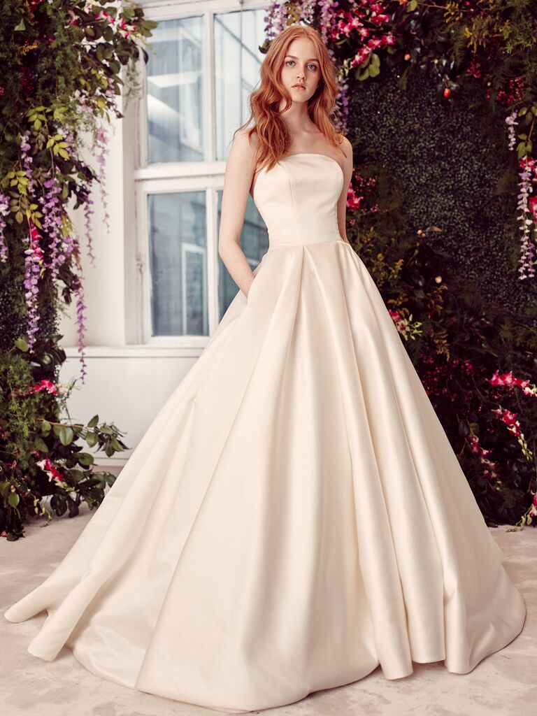 Alyne by Rita Vinieris Spring/Summer 2020 Bridal Collection strapless satin ball gown
