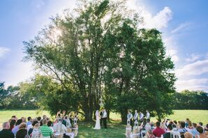 Outdoor Ceremony at Grandparents' House