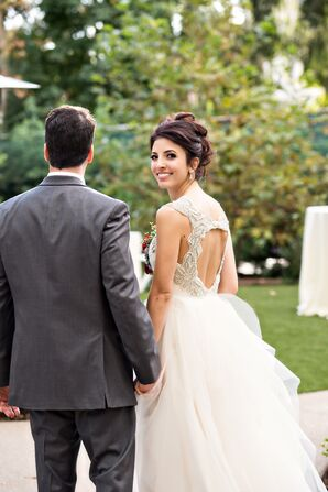Whimsical Hayley Paige Carrie Wedding Dress