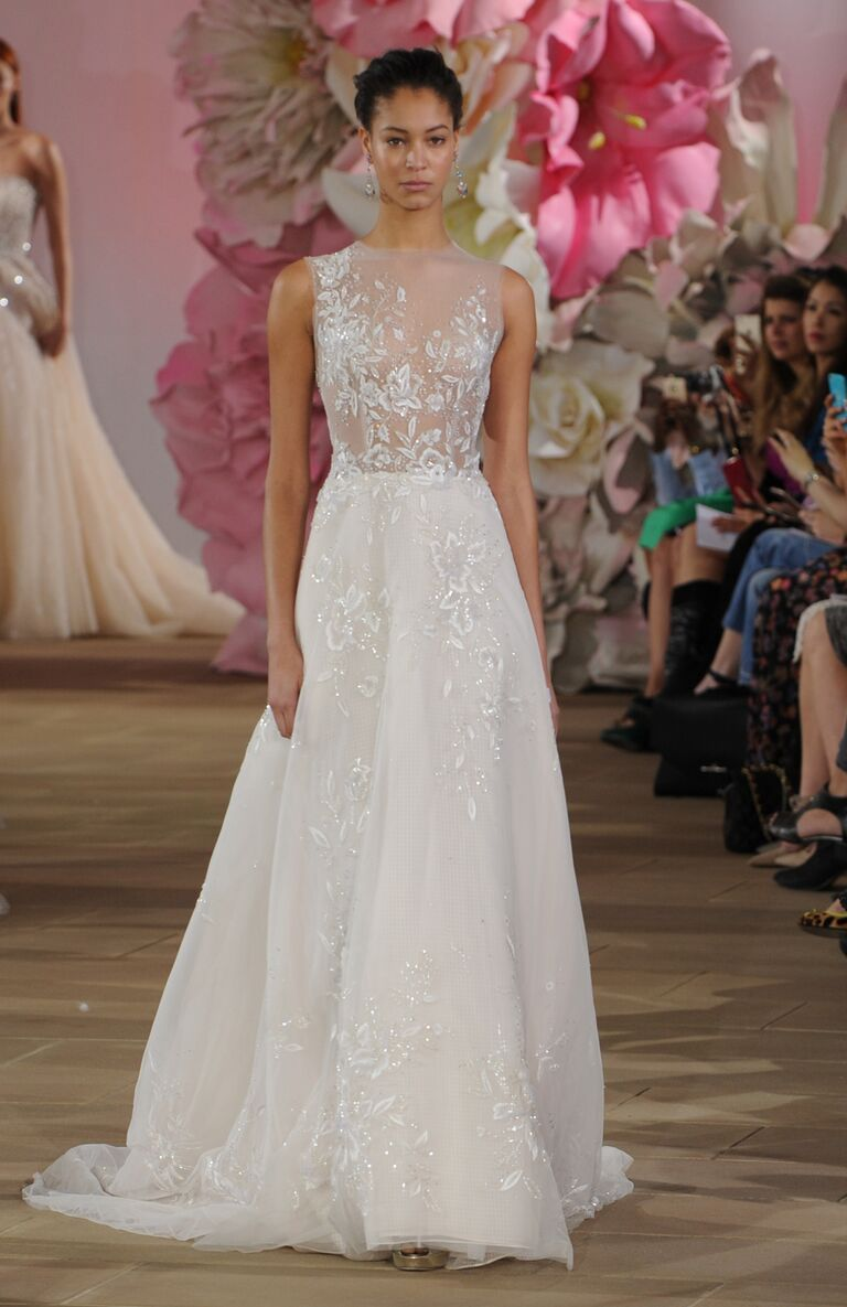 Ines Di Santo Spring 2017 Collection: Bridal Fashion Week Photos