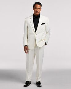 Men's Wearhouse Joseph & Feiss Ivory Notch Lapel Ivory Tuxedo