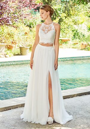 Simply Val Stefani S2055 Top / S2065 Skirt A-Line Wedding Dress