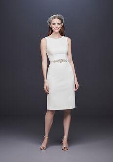 David's Bridal DB Studio Style SDWG0696 Sheath Wedding Dress