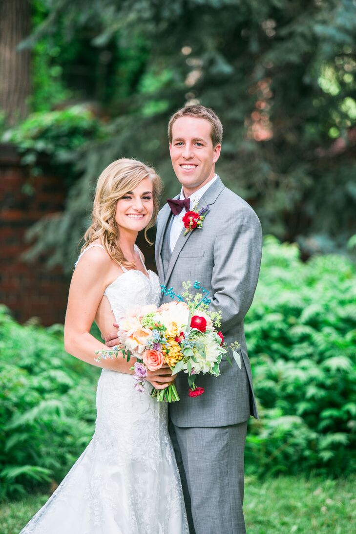For their mid-summer wedding, Melissa Zyzda (22 and an elementary teacher) and Jonathan McCoy (25 and a healthcare consultant) wanted more than a venu