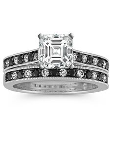 Shane Co. Unique Princess, Asscher, Cushion, Emerald, Heart, Marquise, Pear, Radiant, Round, Oval Cut Engagement Ring