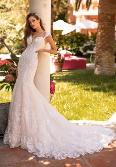 Moonlight Couture H1427 Mermaid Wedding Dress