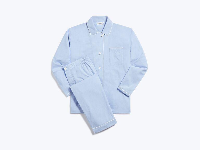 Pajama set first anniversary gift
