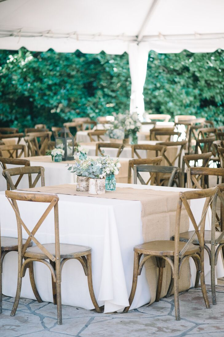 Rustic Reception with French Country Chairs