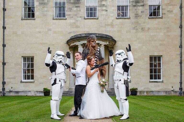 star wars geeky wedding