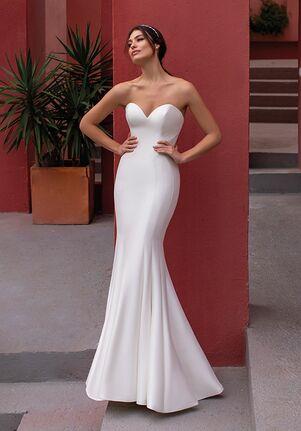 WHITE ONE SPLENDOR Mermaid Wedding Dress