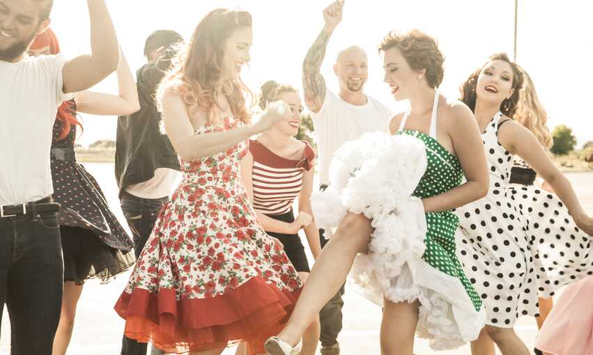Sock Hop party themed inspiration and ideas