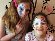 Redding, CA Face Painting | Firework Face Painting