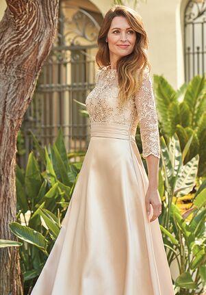 Copper Mother of Bride Dress