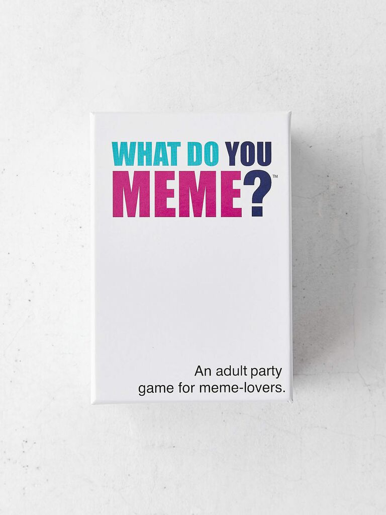 What Do You Meme? funny gift for husband