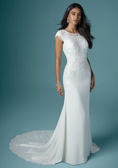 Maggie Sottero COSETTE Sheath Wedding Dress