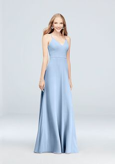 David's Bridal Collection David's Bridal Style F19935 V-Neck Bridesmaid Dress